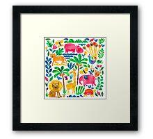 Jungle Fun Framed Print