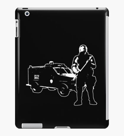 We're Here For Your Protection iPad Case/Skin