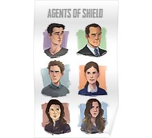 Agents of SHIELD Portraits Poster