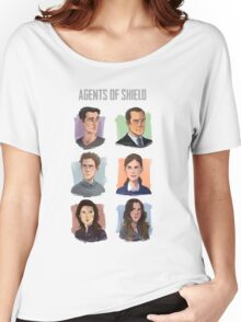 Agents of SHIELD Portraits Women's Relaxed Fit T-Shirt