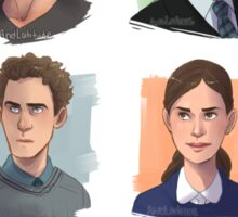 Agents of SHIELD Portraits Sticker