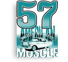 57 MUSCLE Canvas Print