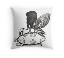 Tangled fairy Throw Pillow
