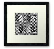 Op art #5 Framed Print