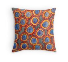Shining Dotted Circles Pattern Throw Pillow