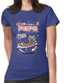 Nyan's Pixel Pops Womens Fitted T-Shirt