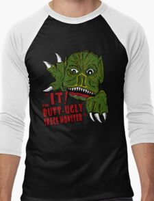 IT! Butt Ugly Space Monster Men's Baseball ¾ T-Shirt