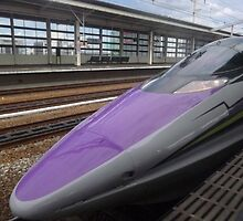 Shinkansen Evangelion Project by Glen O'Malley