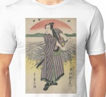 The actor Nakamura Utaemon in the role of Mitsugi - Anon - 1813 Unisex T-Shirt