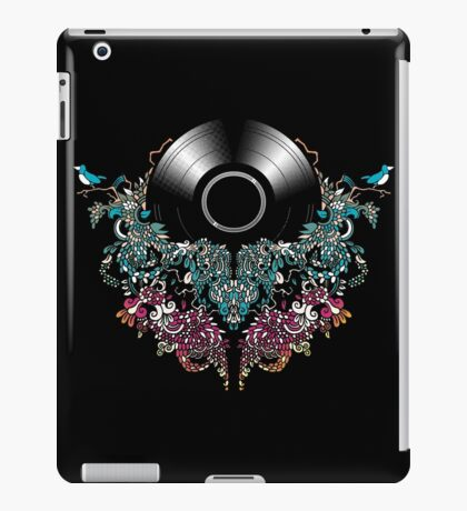 Grow - Music tee with Vintage Record iPad Case/Skin