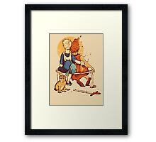Rockwell Time Framed Print
