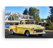 1956 Chevrolet Stepside Pickup Canvas Print