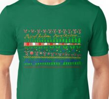 Merry Christmas Pattern Unisex T-Shirt