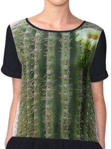 Cactus Flower, Arizona Chiffon Top