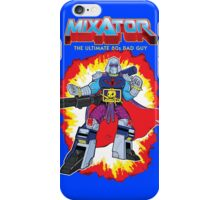 MIXATOR, The Ultimate 80s Bad Guy! iPhone Case/Skin