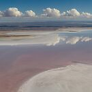 Lake Eyre, SA by Andrew Mather