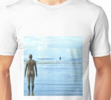 Gormley Iron Men as the tide returns Unisex T-Shirt