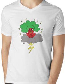 Oni Mens V-Neck T-Shirt