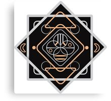 magic sacred symbols Canvas Print