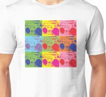 80s Boombox Pop Art Unisex T-Shirt