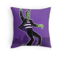 Haunted House Rock! Throw Pillow