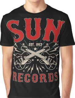 Sun Records Sparkling  Graphic T-Shirt