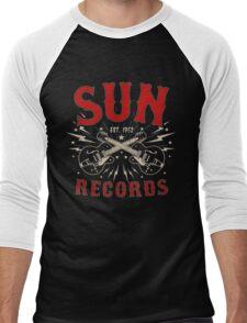Sun Records Sparkling  Men's Baseball ¾ T-Shirt