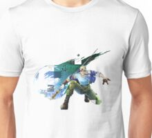 Cid Highwind Grid Artwork and Logo Unisex T-Shirt