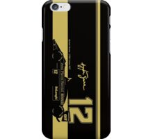 Ayrton Senna's 1986 Lotus 98T iPhone Case/Skin