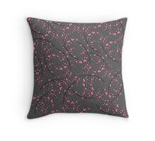Love pattern. Valentine's Day Throw Pillow