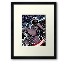 The Derby Strikes Back Framed Print
