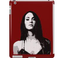 Megan ' s stern glance iPad Case/Skin