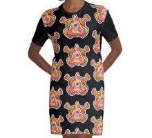 Pizzaism Graphic T-Shirt Dress