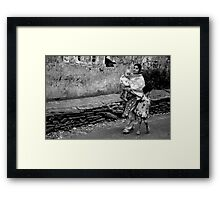 Held Tightly Framed Print