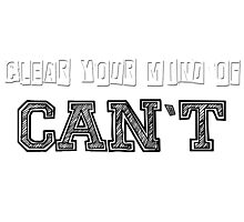 Clear your mind Photographic Print