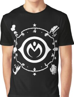 Jojo - Morioh Stands (White) Graphic T-Shirt