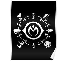 Jojo - Morioh Stands (White) Poster