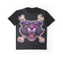 Purple Panther Graphic T-Shirt