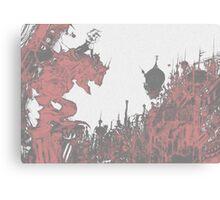 Terra-nigma Canvas Print
