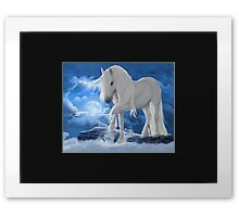 Unicorn Skies Framed Print