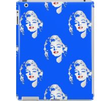 Marilyn was blue iPad Case/Skin