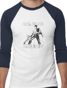 Hail to the King, Baby (Ash - Army of Darkness) Men's Baseball ¾ T-Shirt
