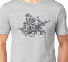 Heroes in a Half Shell!!! Unisex T-Shirt