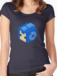 Megaman Women's Fitted Scoop T-Shirt