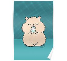 Christmas Cookie Hamster Poster