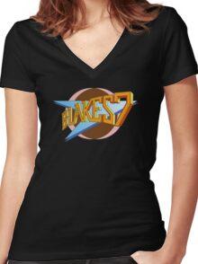 Blake's 7 Women's Fitted V-Neck T-Shirt