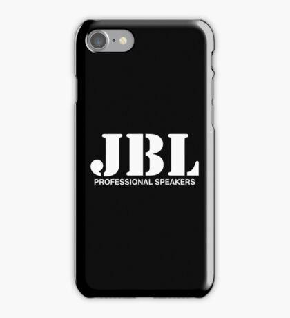 JBL white iPhone Case/Skin