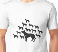 My Australian Cattle Dog Heart Belongs To You Unisex T-Shirt