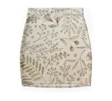 FLowers 3 Mini Skirt