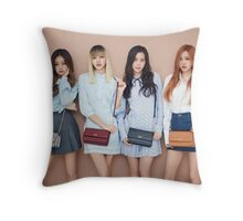 Blackpink 블랙핑크 BLΛƆKPIИK Whistle Boombayah Lisa Rose Jennie Jisoo Throw Pillow